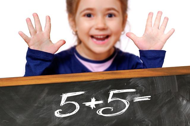 počítání ve školce