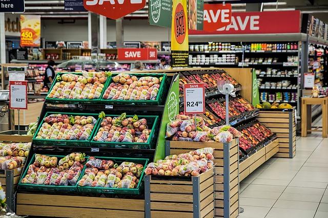 nákupní supermarket